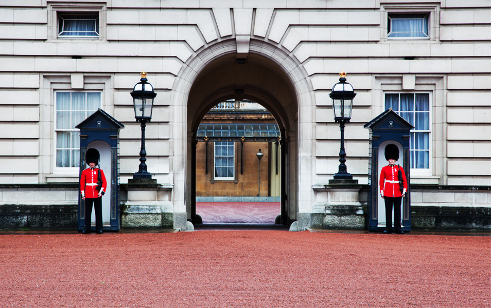 Cambio de Guardia en Buckingham Palace